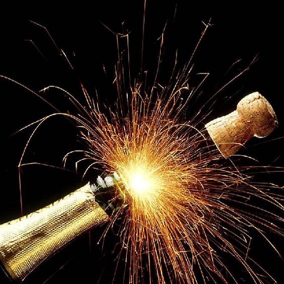 Champagne pour le repas de fin d'année de votre entreprise au restaurant l'Auberge Chambesy Genève
